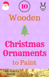 cute unfinished wooden christmas ornaments to paint november 2018 - Wooden Christmas Ornaments To Paint