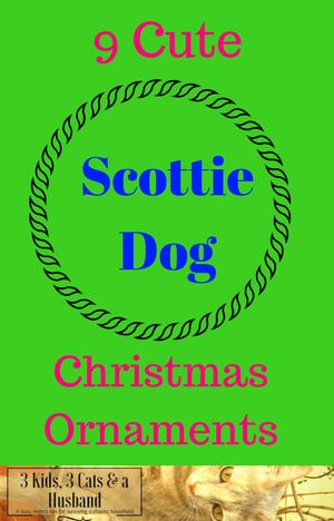 "9 Cute ""Scottie Dog"" Christmas Ornaments!"