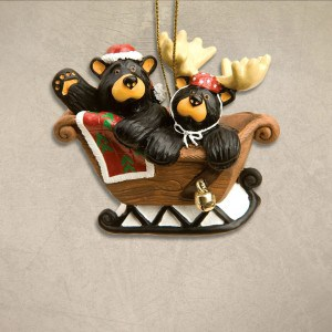 black-bear-sleigh-ride-christmas-ornament