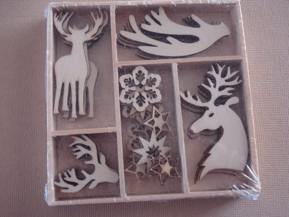 10 Unfinished Wooden Christmas Ornaments To Paint