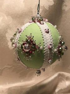 Mint Green Vintage Charm Ornament