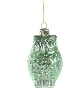 mint-green-glass-owl-christmas-ornament