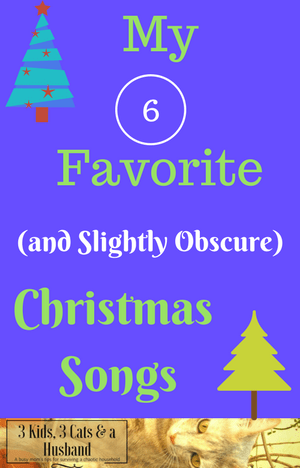 My Favorite (Slightly Obscure) Christmas Songs