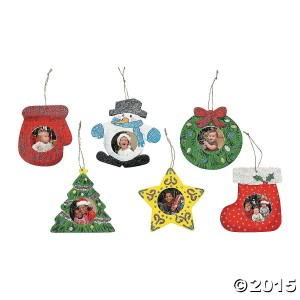 Wooden unfinished Christmas ornaments kit to paint