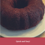 Quick and Easy Banana Bundt Cake Recipe