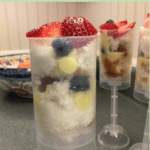Berry Parfaits Fourth of July Dessert