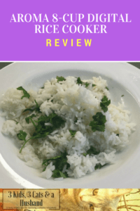 Aroma 8 cup digital rice cooker with delay timer review