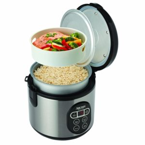 Aroma rice cooker and vegetable steamer