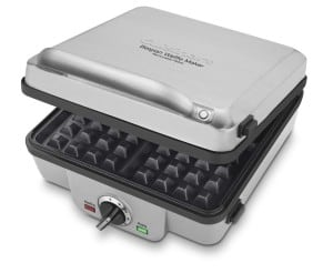 best belgian waffle iron maker with removable plates