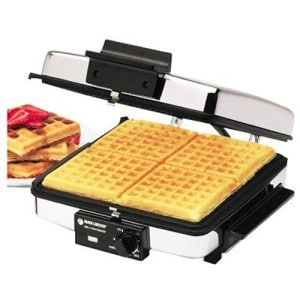 best waffle maker iron with removable plates