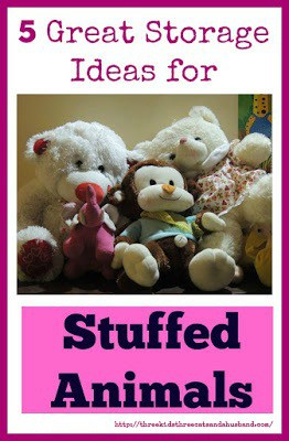 storage ideas for stuffed animals