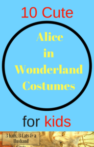 Alice in Wonderland Costumes for Kids