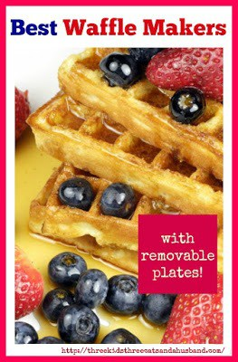 Reviews for best Waffle Makers with Removable Plates