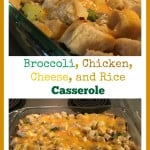 Broccoli chicken cheese and rice casserole