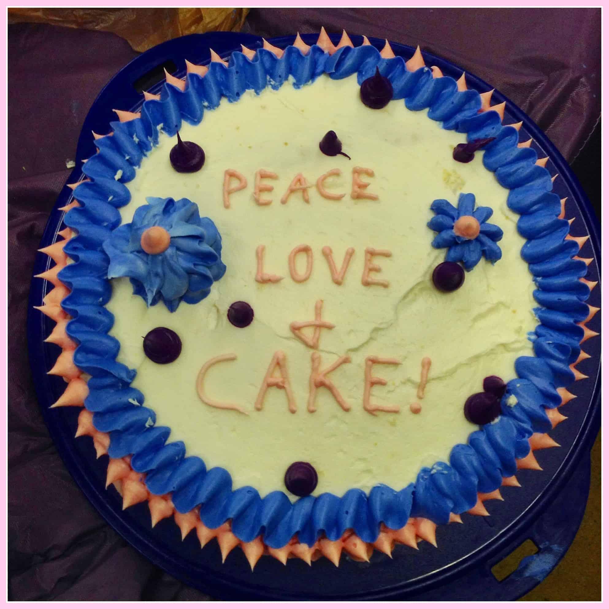 Final Cake Decorating Class