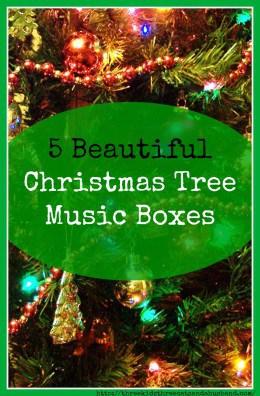 Christmas Tree Music Boxes