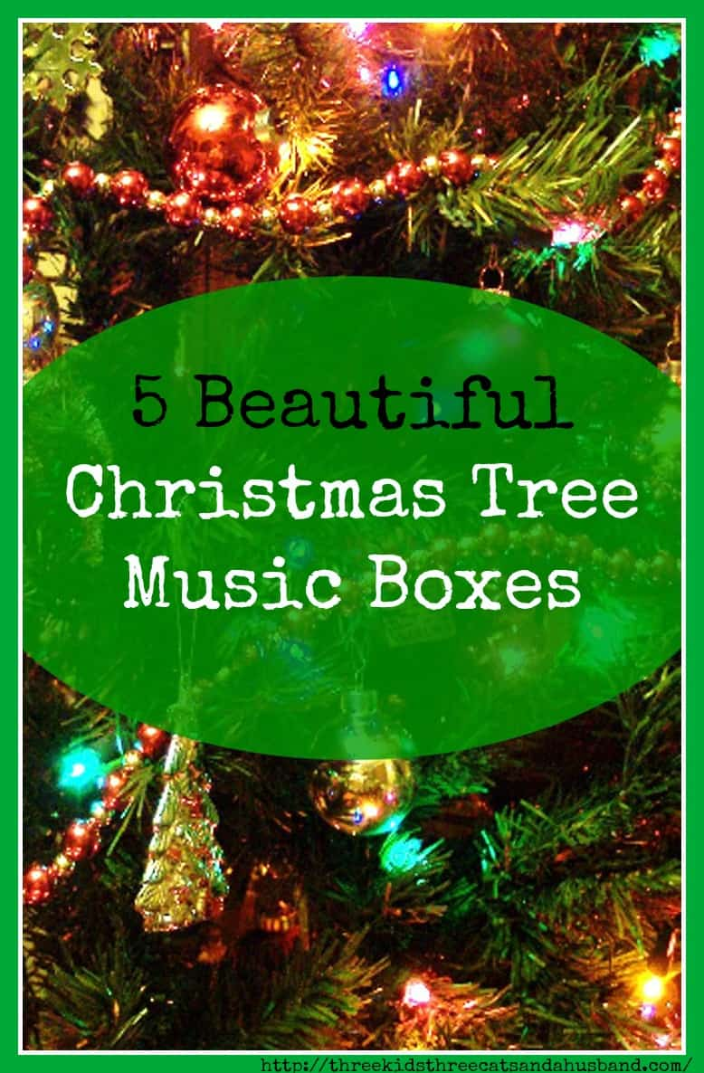 5 Lovely Christmas Tree Music Boxes