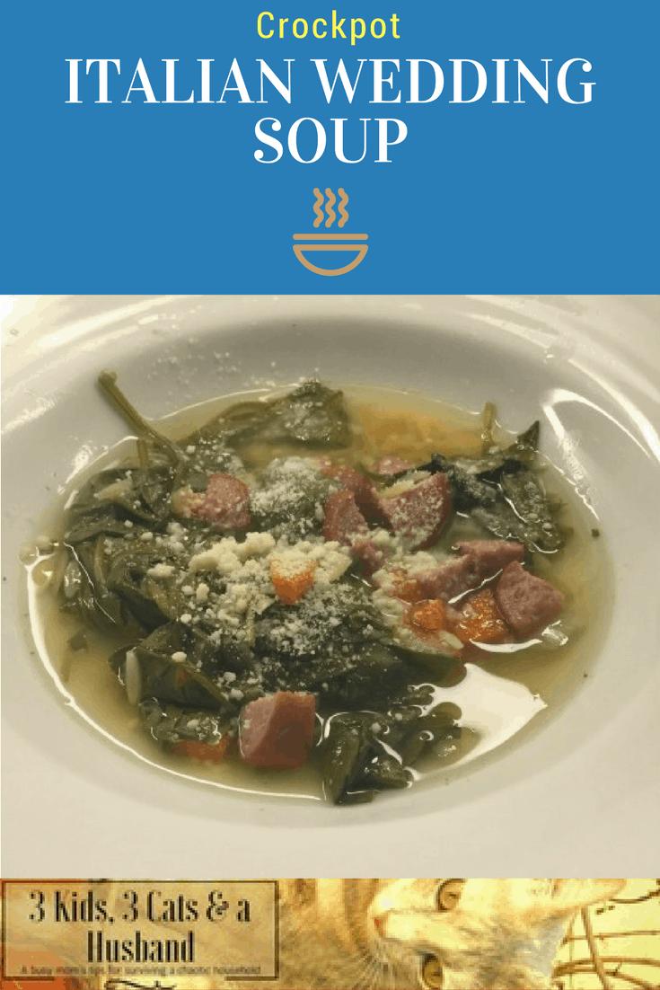 Italian Shotgun Wedding Soup -