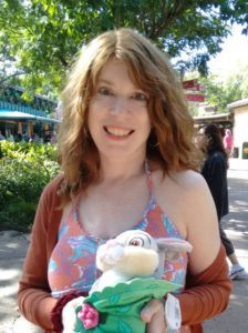 Jen and Thumper at Disney's Animal Kingdom
