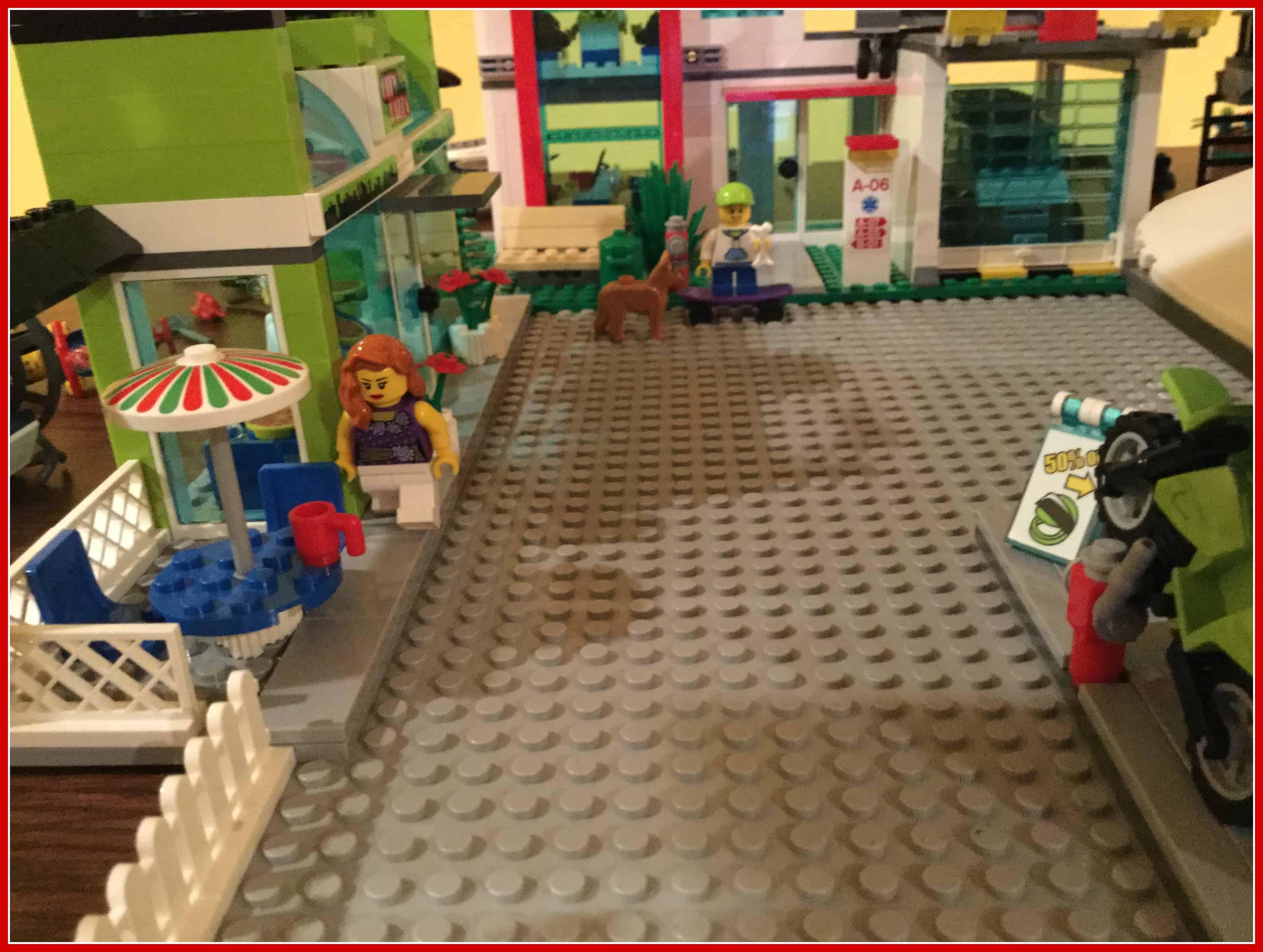 Benjamin's Lego Town