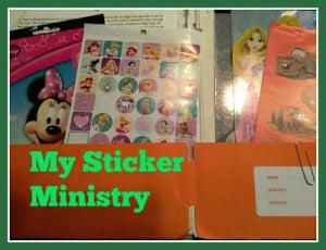 sticker ministry