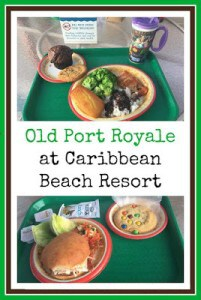 Old Port Royale at Caribbean Beach Resort in Disney World