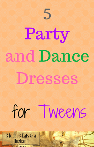 Party and Dance Dresses for Tweens