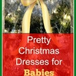 Pretty Christmas Dresses for Babies