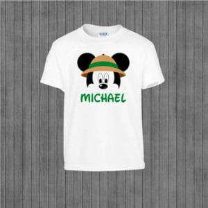 Safari Mickey Animal Kingdom T-shirt
