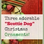 Scottie Dog Christmas Ornaments