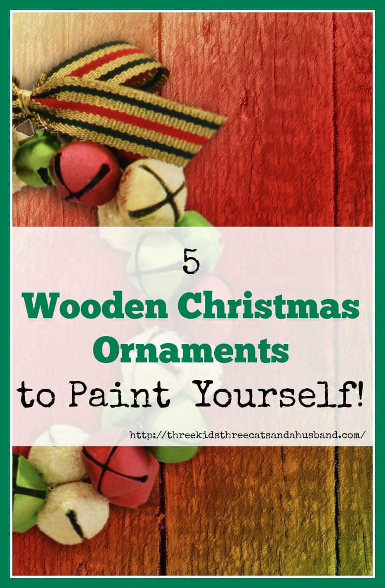 5 wooden christmas ornaments to paint. Black Bedroom Furniture Sets. Home Design Ideas