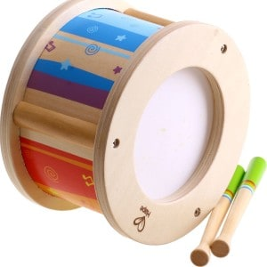 Wooden Drum Set for Toddlers