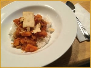 Sweet Potato and peanut stew
