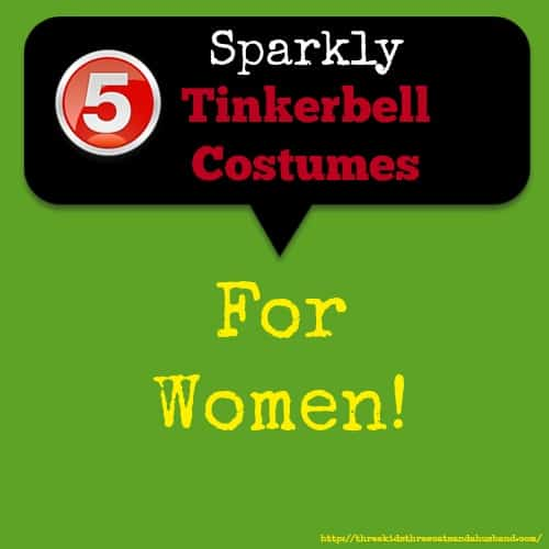 tinkerbell costumes for adult women
