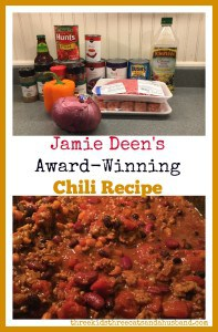 Jamie Deen award winning chili recipe