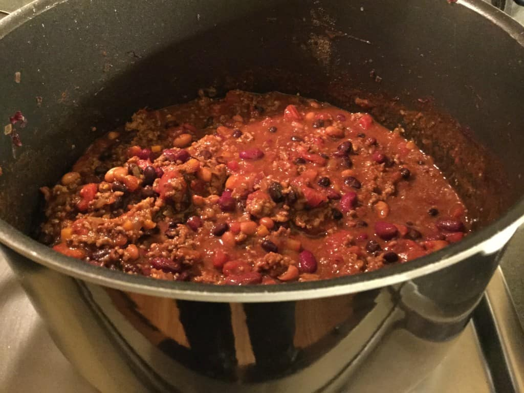 Jamie Deen chili recipe with beer
