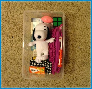 Samaritan's Purse Shoebox with Snoopy