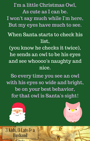 The Legend of the Christmas Owl