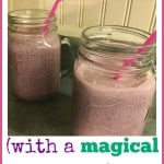 Mixed Berry Mental Explosion Smoothie with magical secret ingredient