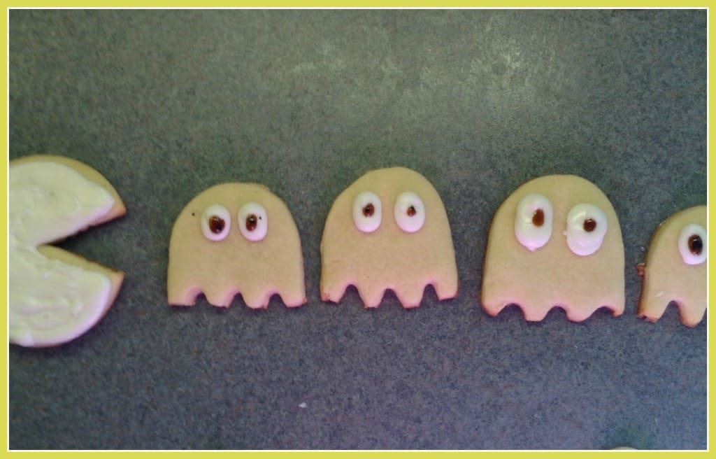 Pac Man cookies