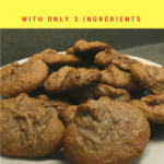 Paleo and Gluten-Free Almond butter cookies