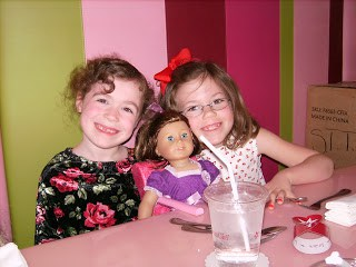 Birthday party at American Girl Store in Atlanta