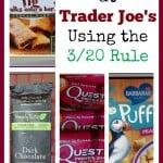 Shopping at Trader Joe's Using the 320 Rule