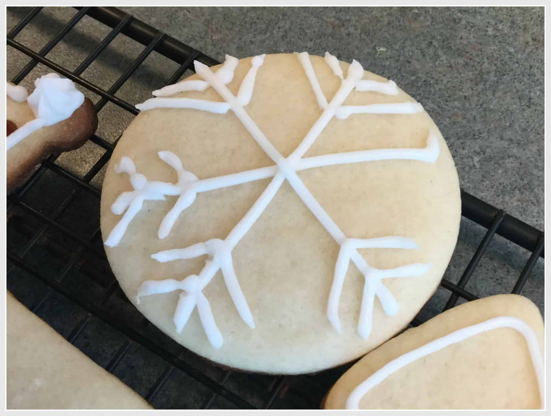 Sugar Cookies for Tonight's Christmas Play