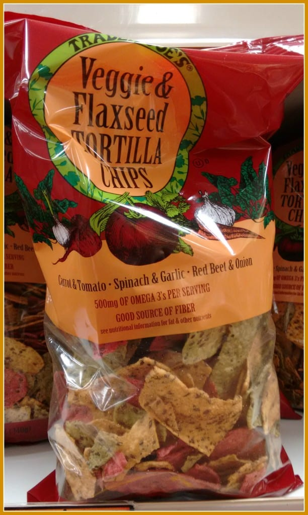 Veggie Flaxseed tortilla chips