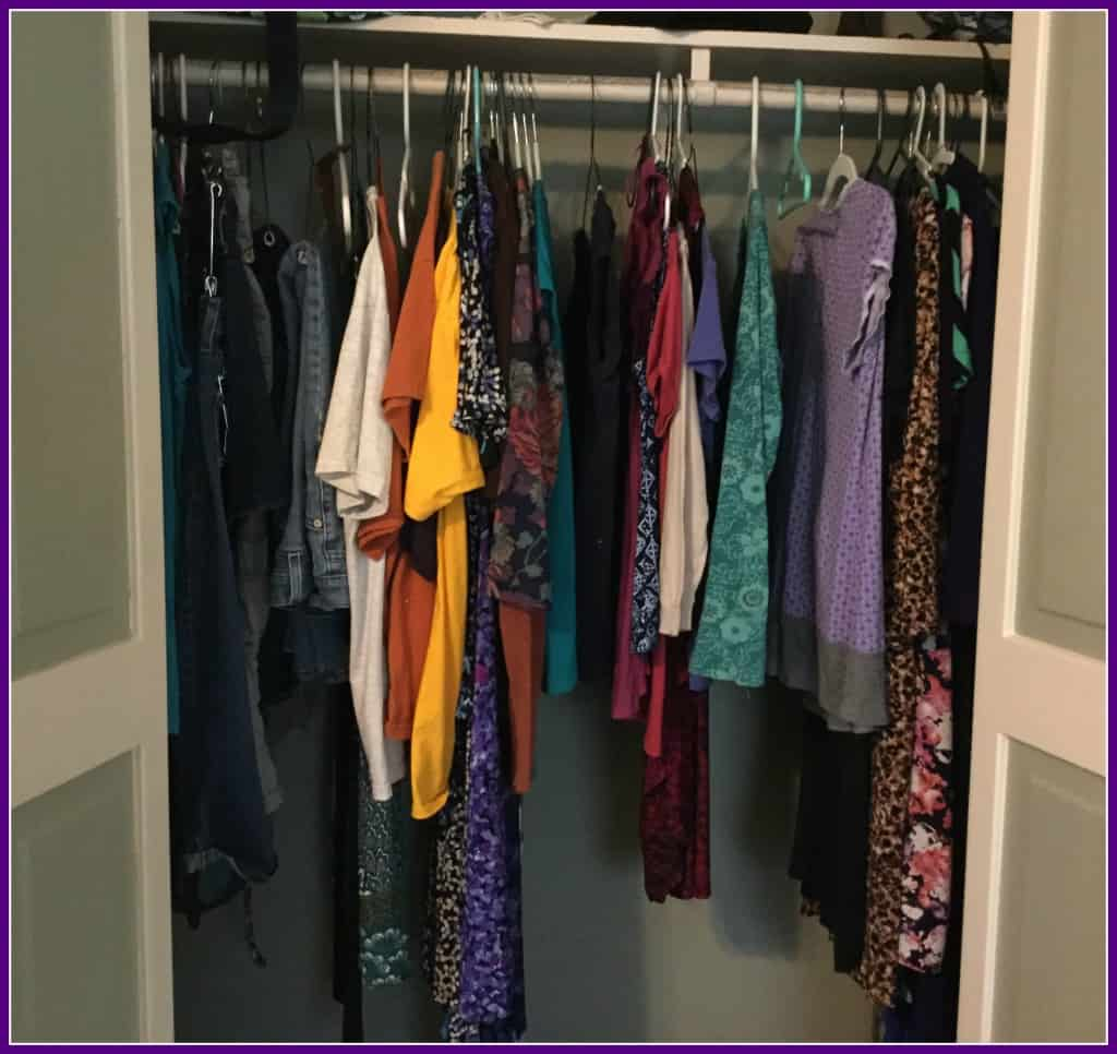Closet -- Before