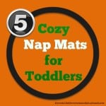 Cozy Nap Mats for Toddlers and preschoolers