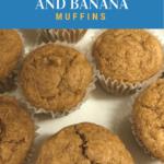 Gluten-Free Almond Butter and Banana Muffins