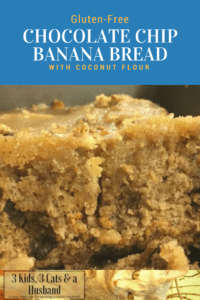 Gluten-Free Chocolate Chip Banana Bread with Coconut Flour
