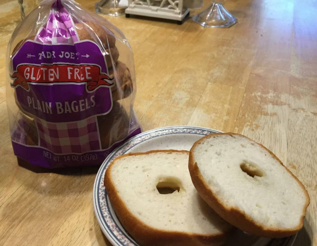 Trader Joe Gluten free bagels